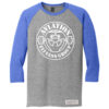 AFG-Men-3_Quarter_Sleeve-Grey_Blue-Full-Front